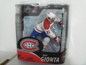 Signed Brian Gionta Montreal Canadiens NHL McFarlane Figure