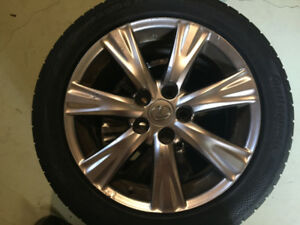 Lexus Rims with Brand New Tires