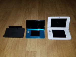 3DS XL, 3DS, & 2 DS XL's For Sale With Games Priced Separately