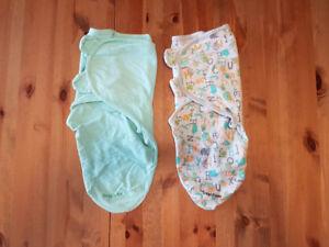 Summer Infant swaddle sacks x 2