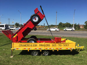 DUMP TRAILERS BY CRAMERO TRAILERS FALL SPECIAL London Ontario image 10