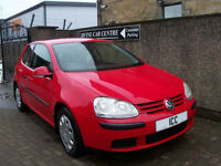 06 06 REG VOLKSWAGEN GOLF 1.4 FSi S 3DR VERY LOW MILEAGE CD LOW INSURANCE AIRCON