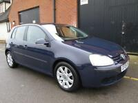 VOLKSWAGEN GOLF 1.4 SPORT 5 SPEED MANUAL LOW MILES