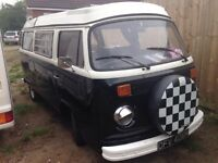 VW Type 2 bay window Campervan 1973 tax exempt awning & cover