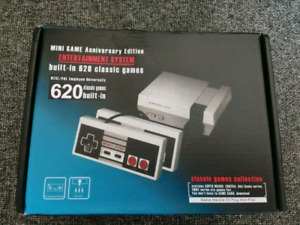 Entertainment system with 400 NES games built-in