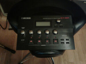 Boss  GT 001 Effects unit desktop/studio