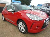 2010 10 CITROEN DS3 1.6 DSTYLE HDI 3DR 90 BHP DIESEL FINANCE WITH NO DEPOSIT AND
