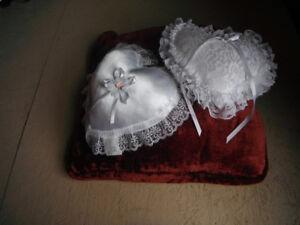 Two Ring Bearer Pillows
