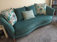 3 seat & 2 seat fabric sofa for sale