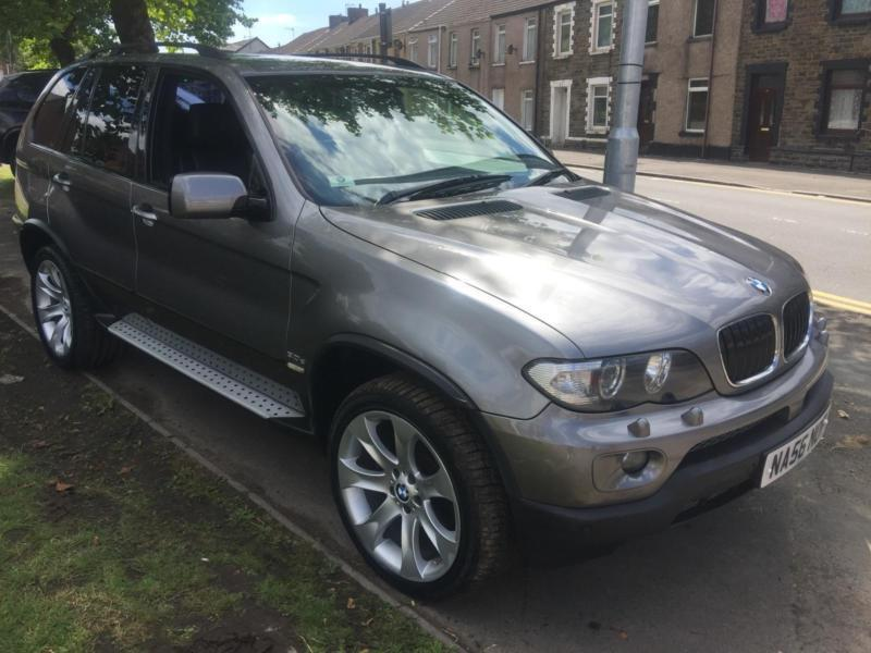 2006 56 BMW X5 3.0d Sport Auto **72,000 Miles FSH - Nav - Leather - Xenons**