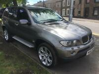 2006 56 BMW X5 3.0d auto Sport 5 DOOR ONLY 72000 MILES WITH FULL SERVICE HISTORY