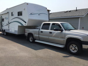 Truck and 29.5 ft. 5th wheel