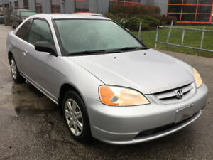 2003 Honda Civic LX Coupe *NO ACCIDENTS*CERTIFIED*3Yrs WARRANTY!