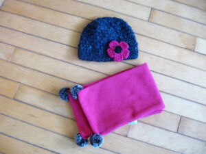 Hat and scarf sets $20 each set size 3-4