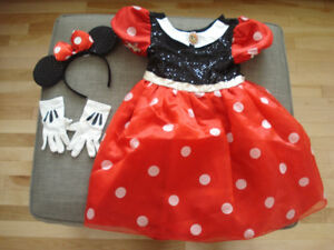 Disney Minnie Mouse Child Size Small Halloween Costume