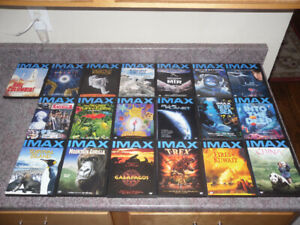 19 IMAX DVDs for $25