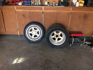 Bogart front and rear aluminum racing rims