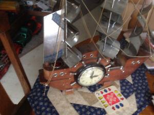 Vintage TV Lamp/clock