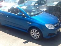 Vauxhall Tigra convertible great for the summer