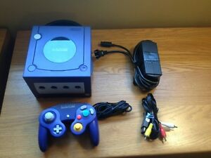Nintendo game cube console