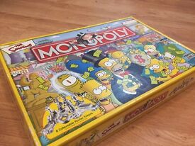 Monopoly The Simpsons!