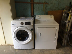 Washer and Dryer for 800$
