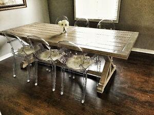 X-Leg Trestle Table