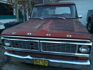 1970 Ford F-100 Grill