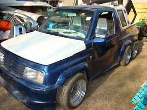 1998 , 6 weel Suzuki Sidekick Coupé (2 portes)