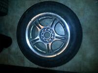 4 x Riken Raptor HR Tires on Alloy Rims