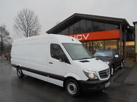 2014 MERCEDES BENZ SPRINTER 313 CDI LWB HIGH ROOF GREAT VALUE NEW SHAPE