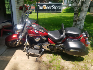 Yamaha V-Star Tourer for sale