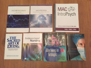 McMaster/Conestoga BScN Textbooks for Sale