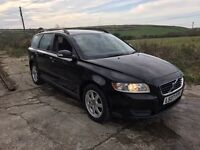 VOLVO V50 S 1.6D BLACK ESTATE 2007 DIESEL