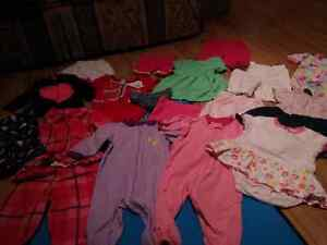 3-6 mos girls lot