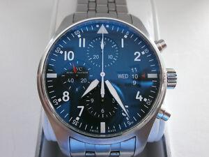 IWC Pilot Chronograph - Stainless Case & Bracelet 377704