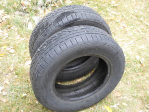 """P185/70R14 Nordman WR """"all-weather"""", 2 tires, very nice!"""