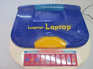 vtech language laptop kids educational toy