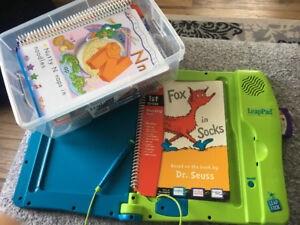 Leap frog learner - 13 books - cartridges with all the storys