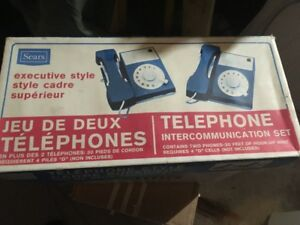 1974 Sears executive style play phones