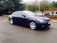BMW 530D-2004 DIESEL-PRIVATE PLATE-HPI CLEAR-FULL LEATHER-LONG MOT-START DRIVES BRILLIANT-CLEAN CAR