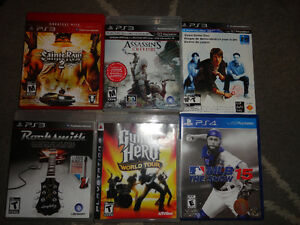 PlayStation3 Video Games $3 Each or Buy 4 for $10 London Ontario image 1