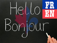 Learn English and French at any level for cheap