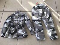 Motor bike jacket & trousers. Kids 12