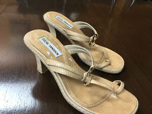 Steve Madden sandals size 6 tan shoes