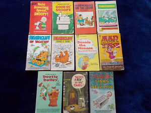 11 Vintage Cartoon/Comic Books