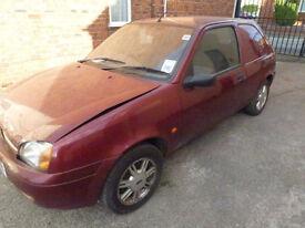 Ford Fiesta spares or repairs 2002