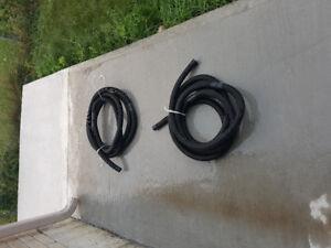 Sump pump hose 1 - 1/2 inch round, $5 Each