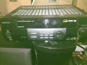 Kenwood surround sound Subwoofer and speakers