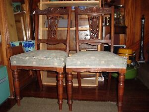 Pair of occasional /or dinning chairs